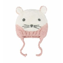 Шапка детская зимняя Белая мышка (код товара: 52450)