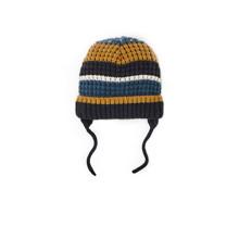 Шапка для мальчика зимняя Синие линии (код товара: 52452)