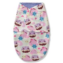 Флисовая пеленка - кокон на липучках Разноцветные сладости (код товара: 52552)