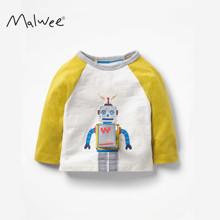 Лонгслив для мальчика Мультяшный робот (код товара: 52576)