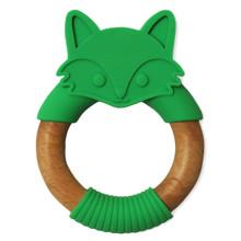 Прорезыватель Енот, зеленый (код товара: 52900)