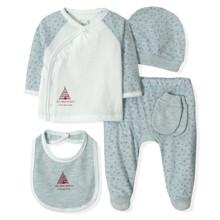Набор 5 в 1 для новорожденного мальчика Caramell (код товара: 5335)
