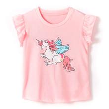 Футболка для девочки Единорог с крыльями (код товара: 53128)