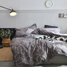 Комплект постельного белья Куб (двуспальный-евро) (код товара: 53289)