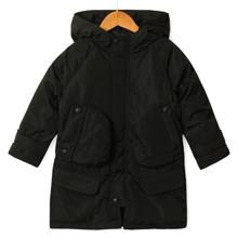 Куртка демі дитяча Contrast, чорний оптом (код товара: 53255)