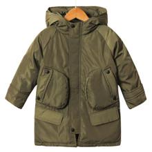 Куртка детская демисезонная Contrast, хаки оптом (код товара: 53256)