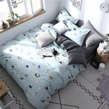 Комплект постельного белья Домашние коты (двуспальный-евро) оптом (код товара: 53346)
