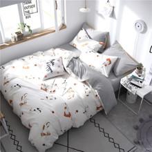 Комплект постельного белья Приключения кота (полуторный) (код товара: 53347)