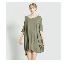 Платье домашнее женское Гармония, зеленый (код товара: 54110)