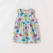 Сарафан для девочки Цветочные динозавры (код товара: 54253)
