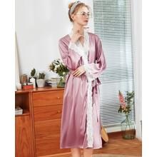 Халат домашний женский Harmony, розовый (код товара: 54901)