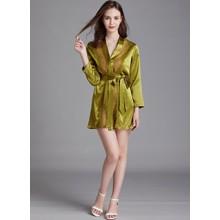 Халат домашний женский Lace, зеленый (код товара: 54903)
