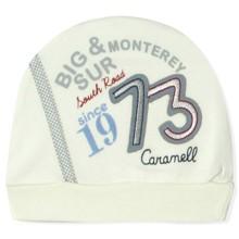 Шапка для новонародженого хлопчика Caramell (код товара: 5504)
