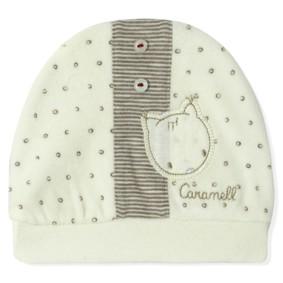 Велюровая шапка для новорожденного Caramell (код товара: 5503): купить в Berni