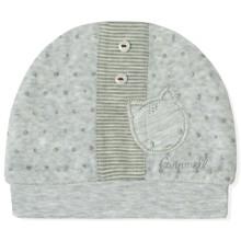 Велюровая шапка для новорожденного мальчика Caramell (код товара: 5502)