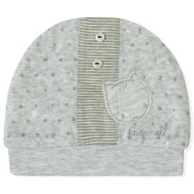 Велюровая шапка для новорожденного мальчика Caramell (код товара: 5502): купить в Berni
