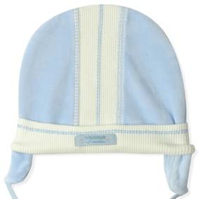 Велюровая шапка для новорожденного мальчика Caramell (код товара: 5516): купить в Berni