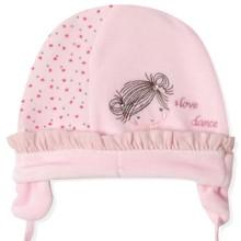Велюровая шапка для новорожденной девочки Caramell  (код товара: 5519)