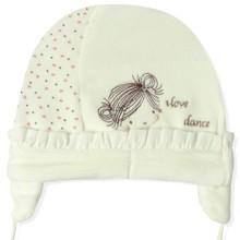 Велюровая шапка для новорожденной девочки Caramell (код товара: 5520)