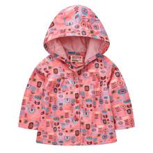 Куртка-ветровка для девочки Цветочный орнамент (код товара: 55328)