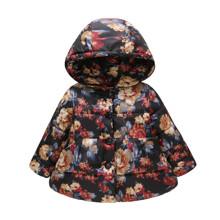 Куртка для дівчинки демісезонна Bush peonies оптом (код товара: 56460)
