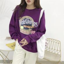 Свитшот женский World Champs, фиолетовый (код товара: 56564)