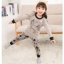 Пижама для девочки Gray unicorn (код товара: 56863)