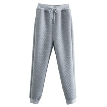 Брюки-джоггеры женские из фактурной ткани Gray texture (код товара: 57100)