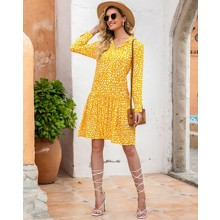 Платье женское на пуговицах Bright sun (код товара: 57729)