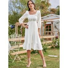 Платье женское с оборками Glim (код товара: 57740)