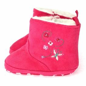 Утепленные пинетки для девочки Berni (код товара: 5947): купить в Berni