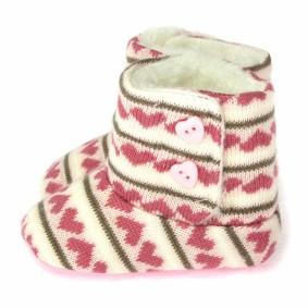 Утепленные пинетки для девочки Berni (код товара: 5949): купить в Berni