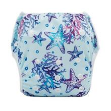 Трусики детские для плавания многоразовые с морским принтом голубые Starfish (код товара: 59330)
