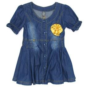Джинсовое платье для девочки ZA*RA (код товара: 641): купить в Berni