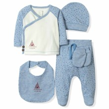 Набор 5 в 1 для новорожденного мальчика Caramell (код товара: 6094)