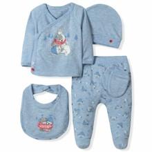 Набор 5 в 1 для новорожденного мальчика Caramell  (код товара: 6097)