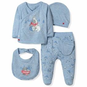 Набор 5 в 1 для новорожденного мальчика Caramell  (код товара: 6097): купить в Berni