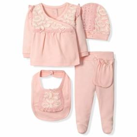 Набор 5 в 1 для новорожденной девочки Caramell  (код товара: 6086): купить в Berni
