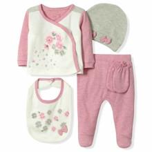 Набор 5 в 1 для новорожденной девочки Caramell (код товара: 6089)