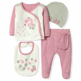 Набор 5 в 1 для новорожденной девочки Caramell (код товара: 6089): купить в Berni