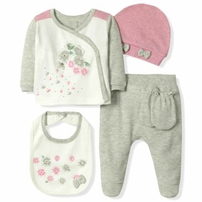 Набор 5 в 1 для новорожденной девочки Caramell (код товара: 6090): купить в Berni