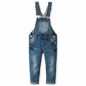 Комбинезон джинсовый для девочки ZR оптом (код товара: 6197): купить в Berni