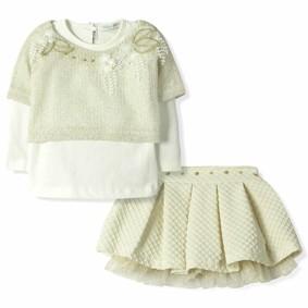 Костюм 3 в 1 для девочки Baby Rose (код товара: 6144): купить в Berni