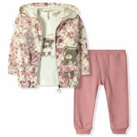 Костюм 3 в 1 для девочки Baby Rose (код товара: 6156): купить в Berni