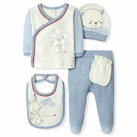Набор 5 в 1 для новорожденного мальчика Caramell  (код товара: 6100): купить в Berni