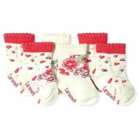 Носки для девочки Caramell (3 пары) (код товара: 6199): купить в Berni