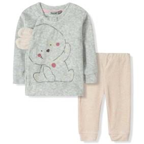 Велюровый комплект для девочки Bonne Baby (код товара: 6299): купить в Berni