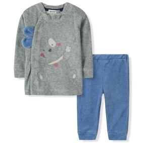 Велюровый комплект для мальчика Bonne Baby (код товара: 6300): купить в Berni
