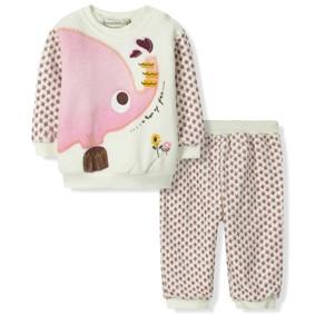 Велюровый комплект на флисе Bonne Baby (код товара: 6305): купить в Berni