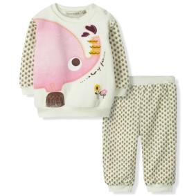 Велюровый комплект на флисе Bonne Baby (код товара: 6306): купить в Berni